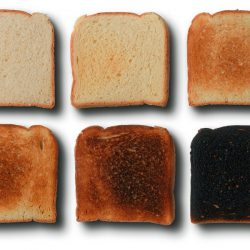 Why Food Experts Are Warning Not to Burn Your Toast   l