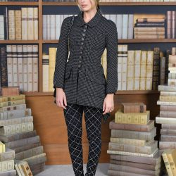 Margot Robbie Spent Her 29th Birthday In Chanel's Couture Library