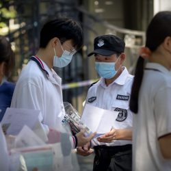 Asia Today: China's university exam begins after virus delay