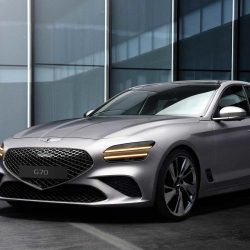 Hyundai's Genesis G70 Sedan Shows Captivating New Design – GaadiWaadi.com