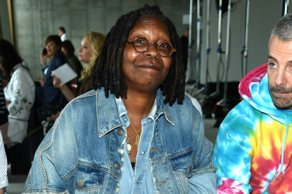 Great Outfits in Fashion History: Whoopi Goldberg's Canadian Tuxedo at New York Fashion Week