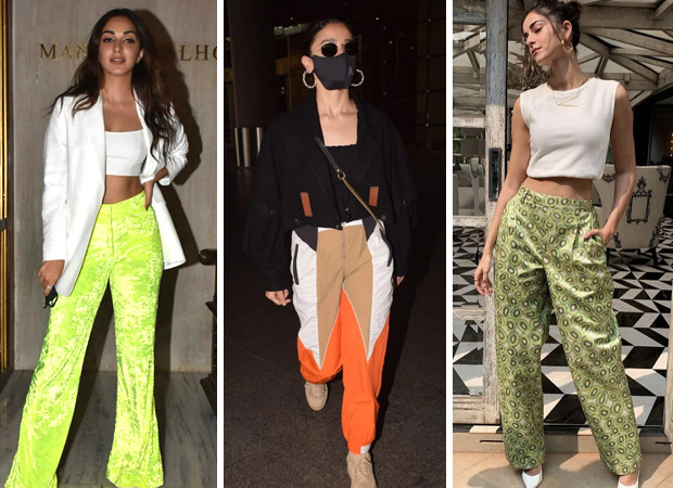From Kiara Advani, Alia Bhatt to Ananya Panday Bollywood beauties are obsessed with flared, fancy trendy pants in 2021